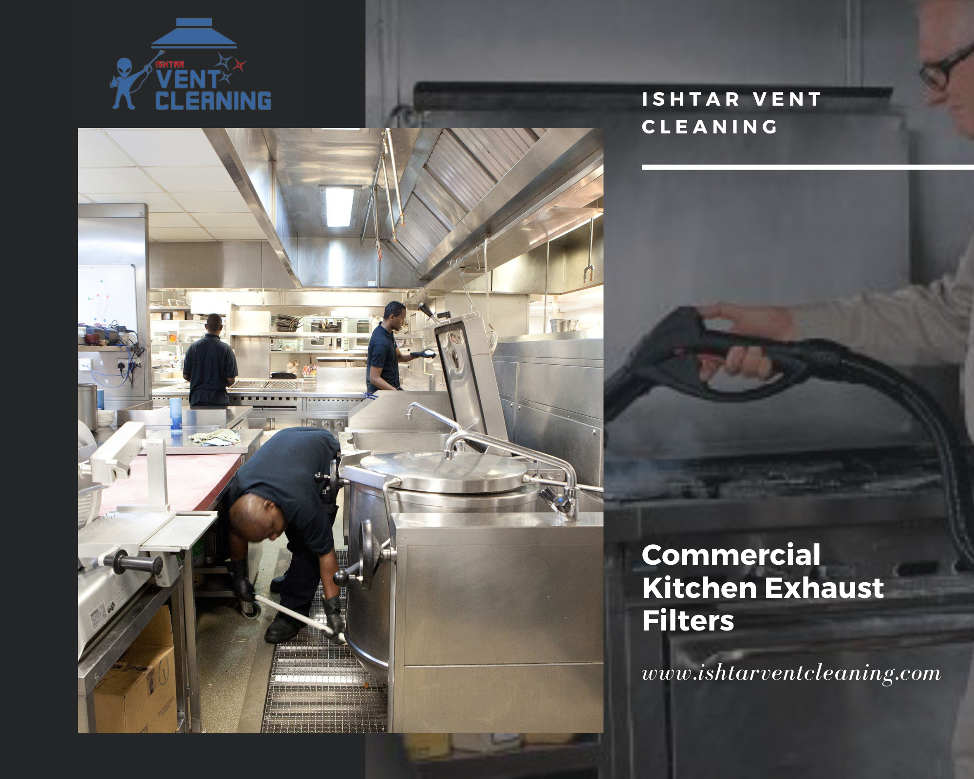 How commercial kitchen exhaust duct cleaning is good for your business growth?